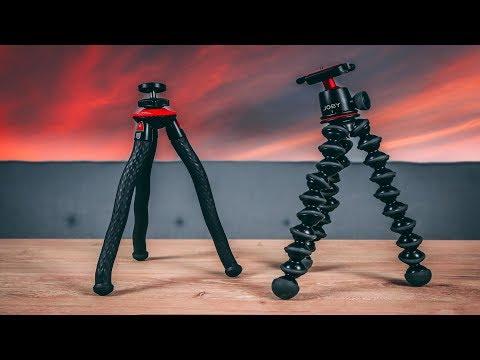 The Best Vlogging Tripod...? | FotoPro UFO 2 vs Joby 3K Kit GorillaPod