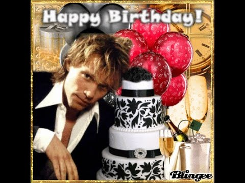 Jon Bon Jovi 2nd March 2016 Today Its Your Birthday 54 Years Youtube