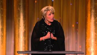 Emma Thompson honors Angela Lansbury at the 2013 Governors Awards