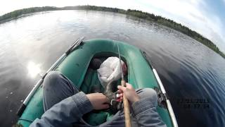 Попытка №2 - щука на вертушку  (видео-отчет) - Рыбалка 22 мая 2015 -  ловля щуки на спиннинг весной(Вечерняя рыбалка в среду заинтриговала. Решили поехать с утра ловить щуку на спиннинг. Весной бывают отлич6..., 2015-05-22T15:38:51.000Z)