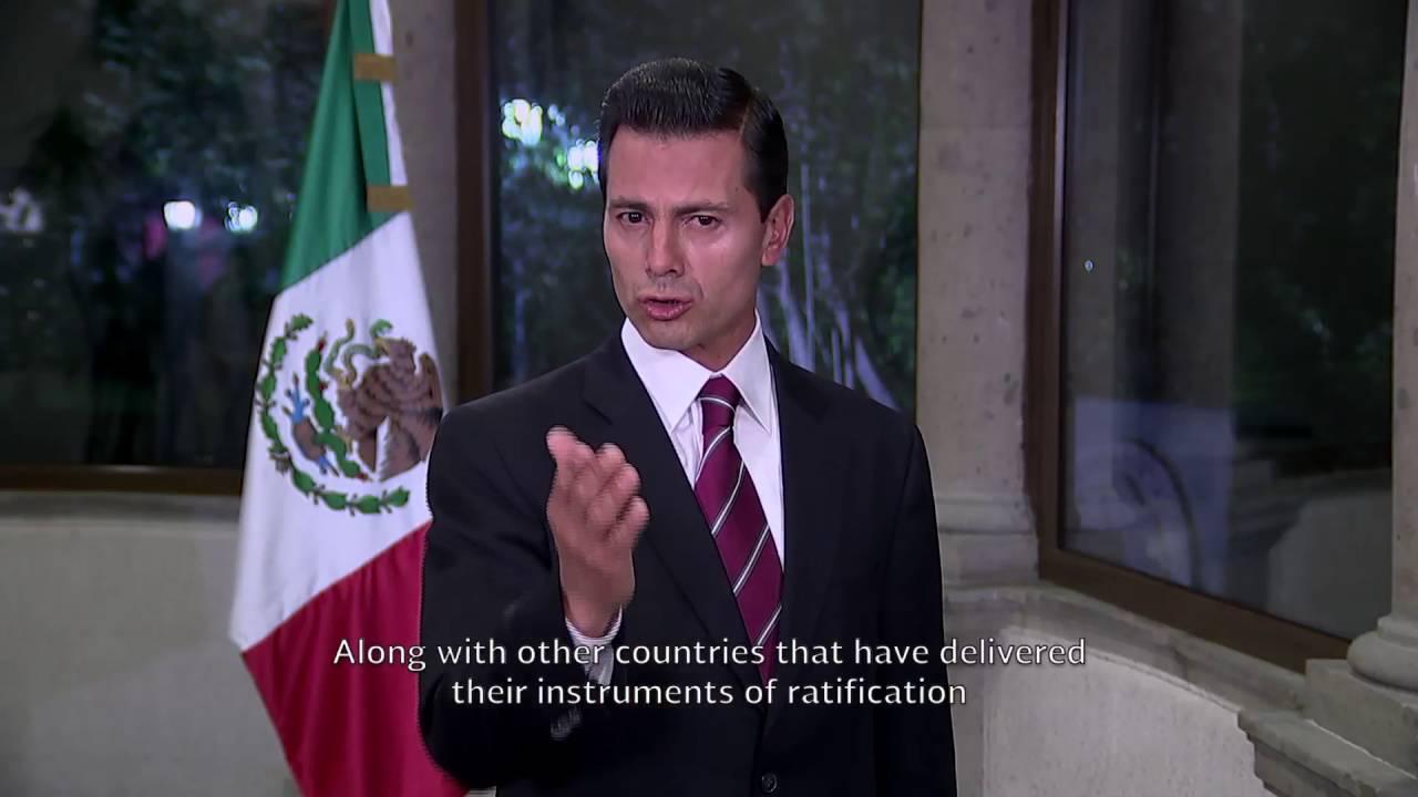 Mexico: Statement 2016 UN Climate Change high-level event