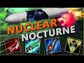 PREDATOR MISSILE INBOUND! NUCLEAR NOCTURNE JUNGLE ONE SHOTS EVERY ULT! - League of Legends