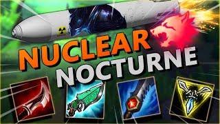 PREDATOR MISSILE INBOUND! NUCLEAR NOCTURNE JUNGLE ONE SHOTS EVERY ULT! - League of Legends