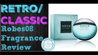 Aqva Pour Homme Marine by Bvlgari Fragrance Review (2008) | Retro Series