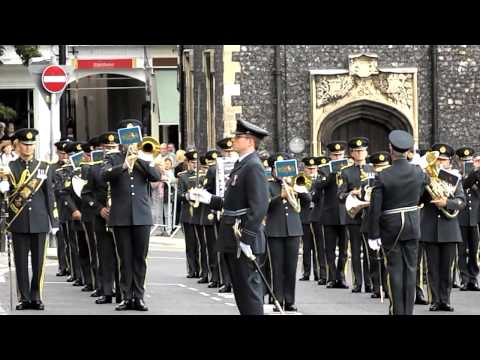 """Norwich - RAF Band play """"The Battle of Britain"""" theme in Battle of Britain Week Sept 2012"""