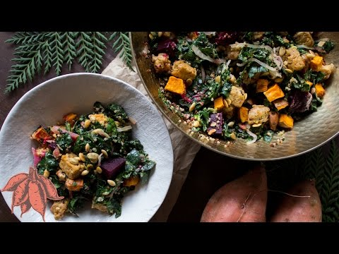 Perfect Vegan Fall Salad/Buddha Bowl ��