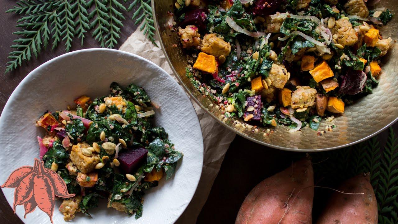 Perfect Vegan Fall Salad/Buddha Bowl