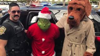 The Davie Police Department arrested the Grinch (2016)