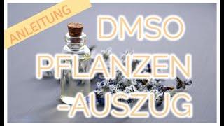 DMSO Pflanzenauszüge: Nach 4 Jahren DMSO stelle ich nun eigene Auszüge her