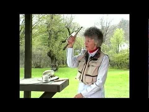 Joan Wulff Teaches the Basics of Fly Casting