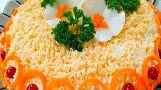 Салат с корейской морковкой (Бунито)
