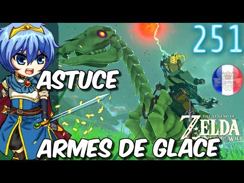 Emplacement des Armes Zora Zelda Breath of the Wild Bot