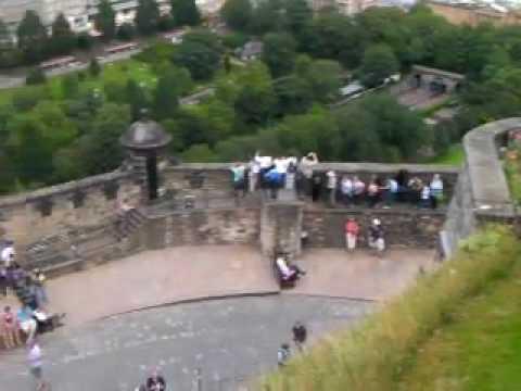 panorama edinburgh castle
