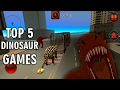 TOP 5 DINOSAUR GAMES | IOS and ANDROID Gameplay Video