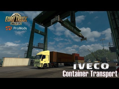 ETS2 I Iveco EuroStar ★ Container Transport ★ #470 ProMods- Tour [Deutsch/HD]