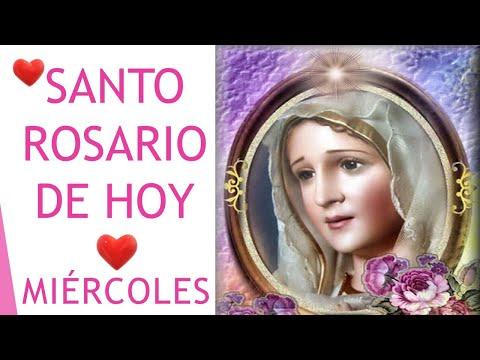▶ Santo Rosario de Hoy Miércoles Misterios Gloriosos 🙏🌹