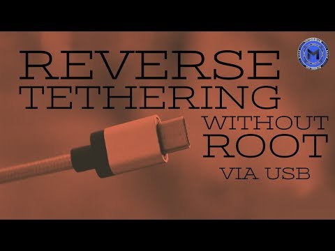 Reverse Tethering - [Without ROOT] How to share PC's internet with mobile via USB.