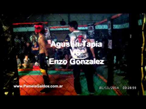 "MMA Agustin Tapia VS Enzo Gonzalez ""EXPLOTA LOS TOLDOS II"" Fight Club"