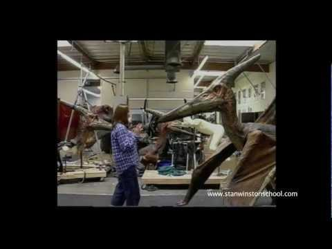 JURASSIC PARK III - Pteranodon Attack Test - BEHIND-THE-SCENES
