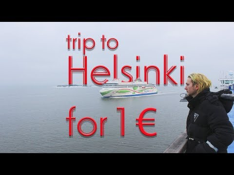 trip to Helsinki for 1 €