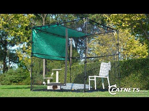 Cat Premium Portable Enclosure | Catnets.com.au