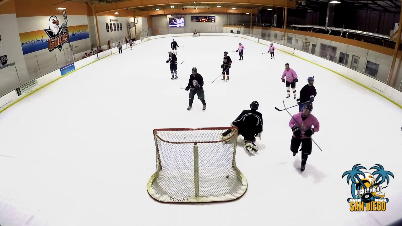Chiefs Vs Barnacles Poway Ice Adult Hockey League Youtube