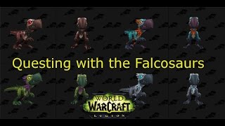First Quest for the Falcosaur Hatchlings | World of Warcraft Legion