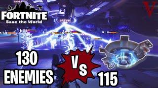 115 CEILING ELECTRIC FIELDS VS 130 HUSKS!? | Fortnite Save the World | TeamVASH