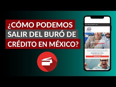 Cómo Podemos Borrar o Salir del Buró de Crédito en México - Limpiar Historial Buró de Crédito