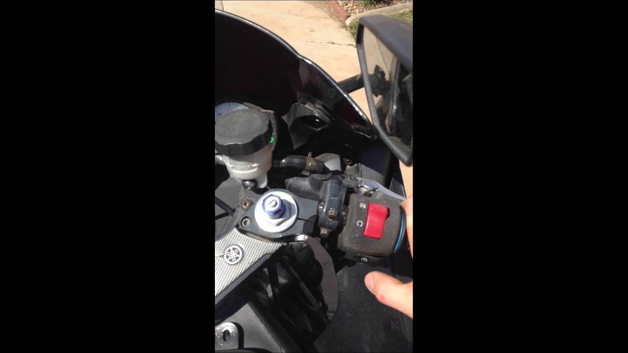 2003 Yamaha R6: Electrical Issues