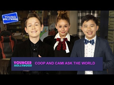 Would You Rather? With The Cast of Coop and Cami Ask The World!