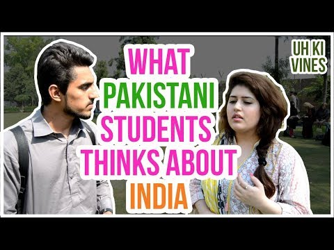 What Pakistani People Thinks About India || UH ki vines ||
