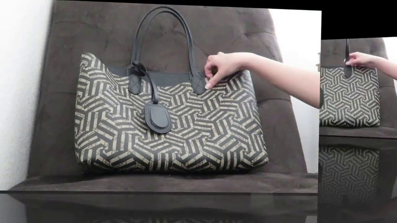 c1c6d78f642af0 FIRST IMPRESSION VIDEO - GUCCI CALEIDO REVERSIBLE TOTE - YouTube