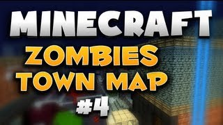 Minecraft: Black Ops 2 Zombies 'TOWN' Map [Exact recreation] - Part 4 - AWILDCHAD