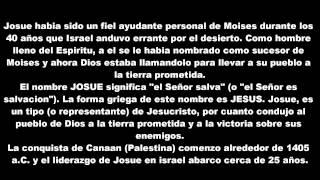 09 LA BIBLIA Josue 1ª Parte