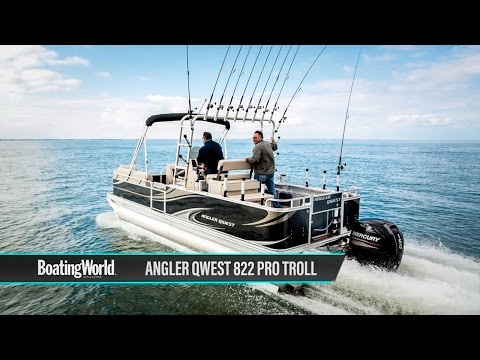 Angler Qwest 822 Pro Troll – Boat Test