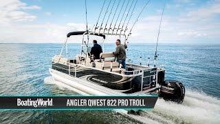 Angler Qwest 822 Pro Troll – Boat Test