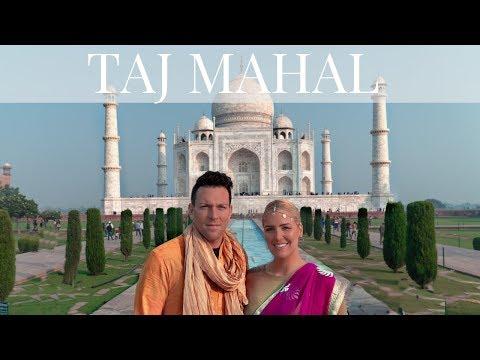 TAJ MAHAL TRAVEL VLOG | EXPLORING INDIA