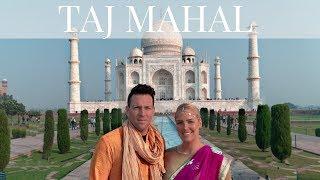 TAJ MAHAL TRAVEL VLOG   EXPLORING INDIA
