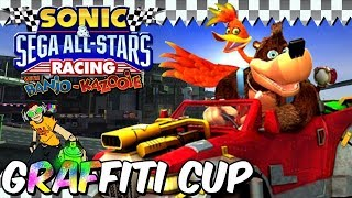 Sonic & Sega All Stars Racing with Banjo Kazooie - Graffiti Cup (Xbox 360)