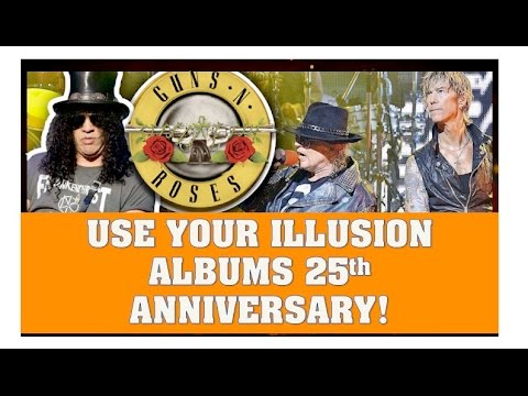 Guns N' Roses News  Use Your Illusion Albums Turn 25!