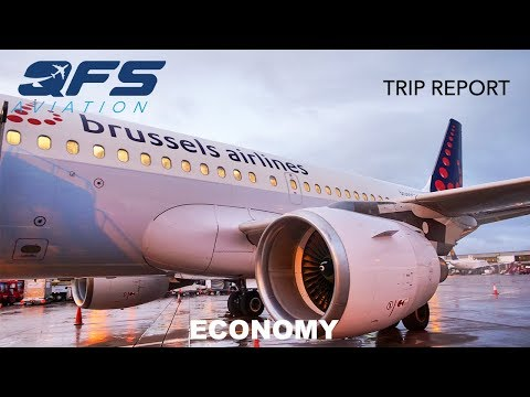 TRIP REPORT | Brussels Airlines - A319 - Manchester (MAN) To Brussels (BRU) | Economy