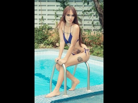 HOT MODEL IN ACTION  widya magdalena palar