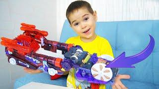 Новые МАШИНКИ в ПОДАРОК для детей! Крутые игрушки Турбо Скричеры
