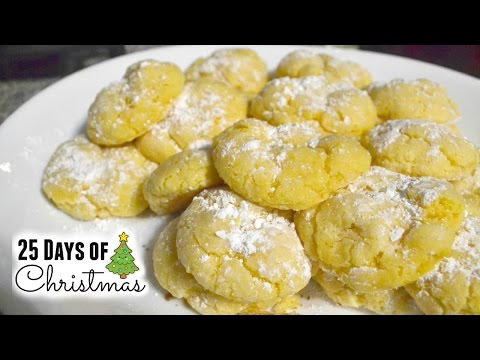 Christmas Cookies: Gooey Butter