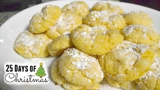 Christmas Cookies: Gooey Butter