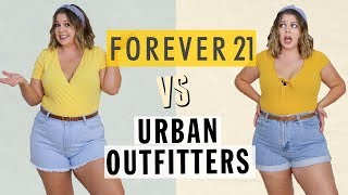 $100 Outfit Challenge: Urban Outfitters vs. Forever 21!