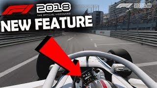 F1 2018 Monaco Gameplay - NEW FEATURE REVEALED
