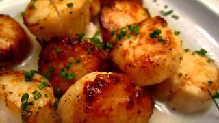 Cooking result - grilled scallop