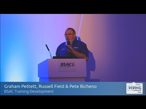 BSAC Training Developments - Graham Pettett, Russell Field and Pete Bicheno
